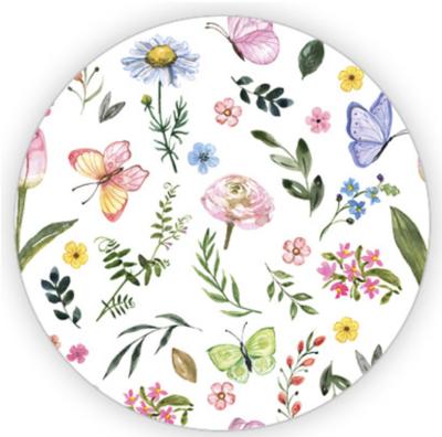 Sticker Flowers & butterflies XL