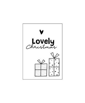 Cadeaukaart Lovely Christmas (kadootjes)