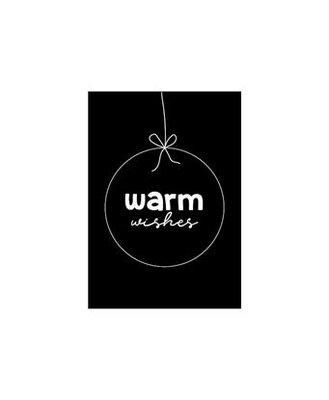 Cadeaukaart Warm wishes