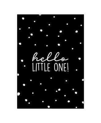 Ansichtkaart Hello little one