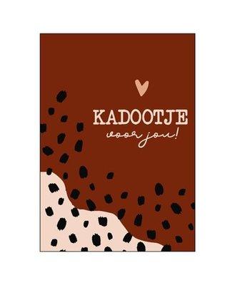 Ansichtkaart Kadootje voor jou!