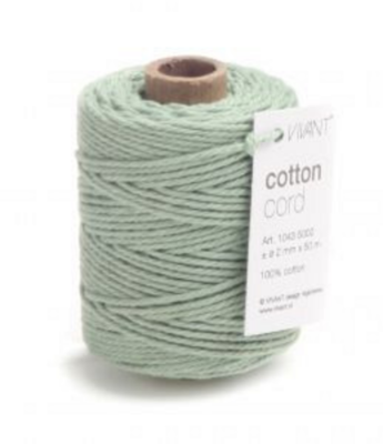 Cotton cord Early dew roll