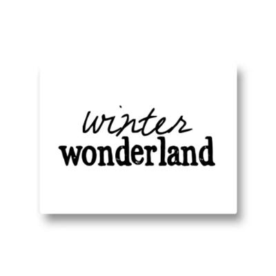 Lotsoflo Sticker Winter wonderland