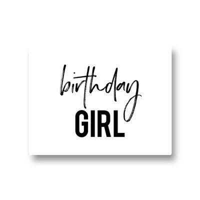 Lotsoflo Sticker Birthday girl