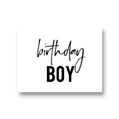 Lotsoflo Sticker Birthday boy