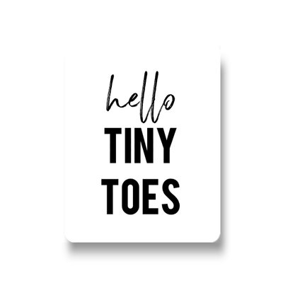 Lotsoflo Sticker Hello tiny toes