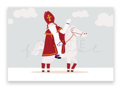 Ansichtkaart Sint & Ozosnel
