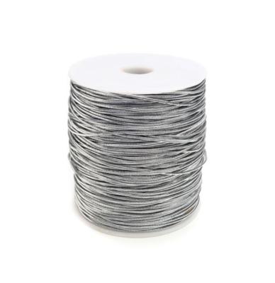Elastic band silver 1mm