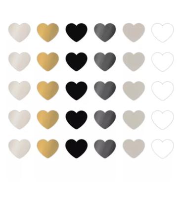 Stickers Mini hearts chique assorti