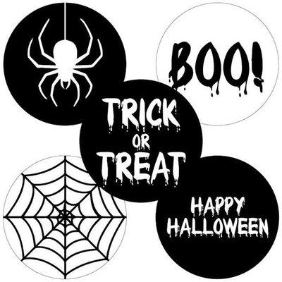 Sticker Halloween assorti