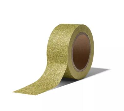 Masking tape Christmas glitter groen