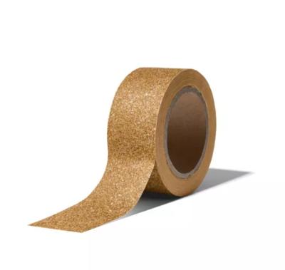 Masking tape Christmas glitter goud