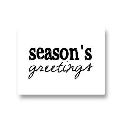 Lotsoflo Sticker Season's greetings