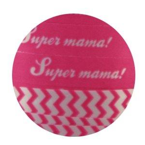 Krullint Super mama! Pink