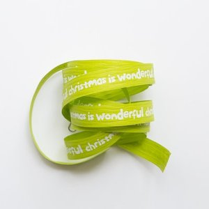 Krullint Wonderful Christmas lime groen