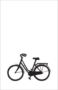 Cadeaulabel fiets