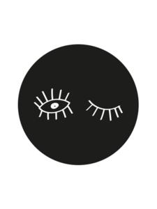Sticker Eyes black