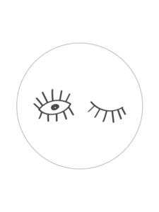Sticker Eyes white