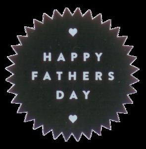 Sticker Happy fathers day