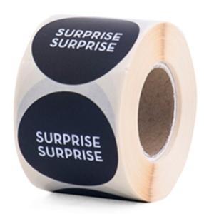 Sticker Surprise black
