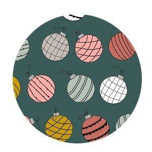 Cadeauzakjes Christmas balls 17 x 25