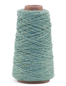 Cotton cord mint/gold