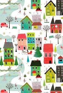 Cadeaupapier Christmas in the city