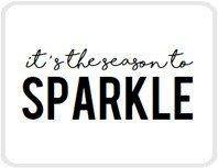 Sticker It's the season to sparkle