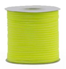 Velvet ribbon neon yellow