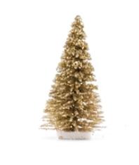 Kerstboom glitter/gold