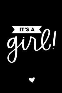 Cadeaulabel It's a girl!