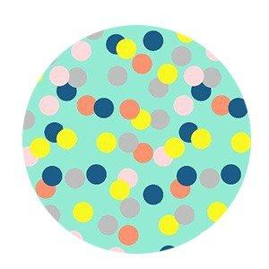 Cadeaupapier Big confetti fluor