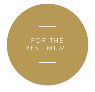 Sticker For the best mum