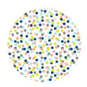 Cadeaupapier small confetti fluor