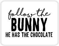 Sticker Follow the bunny