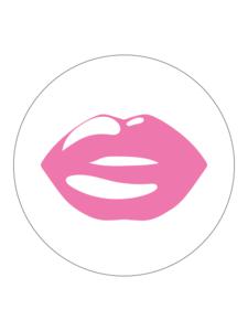 Sticker Lips pink