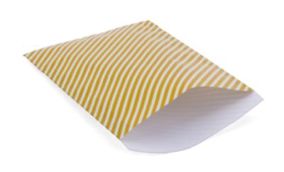 Cadeauzakjes Happy stripes caramel fudge 17 x 25