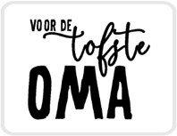 Sticker Voor de tofste oma