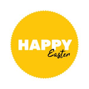 Sticker Happy easter