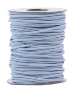 Elastic band Lilac blue 3mm