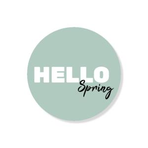 Sticker Hello Spring