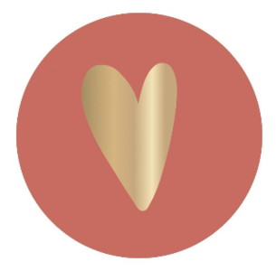 Sticker Heart terra