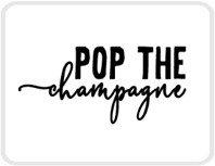 Sticker Pop the champagne