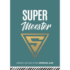 Ansichtkaart Supermeester