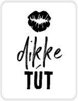 Sticker Dikke tút