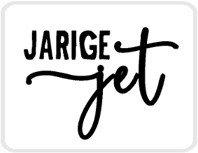 Sticker Jarige jet