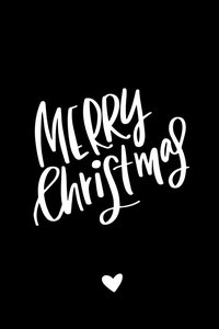 Cadeaulabel Merry christmas