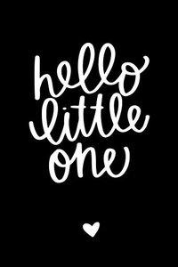 Cadeaulabel Hello little one