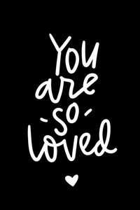 Cadeaulabel You are so loved