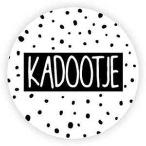 Sticker Kadootje stip